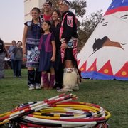 Photo of Autry Museum of the American West - Los Angeles, CA, United States. Hoop dancers from northwest at Autry native arts market held annually in November