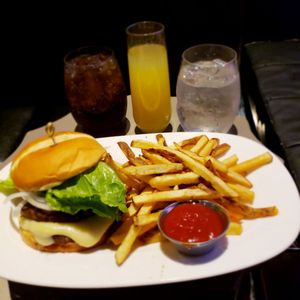 Photo of Studio One Theaters - Portland, OR, United States. Burger and fries