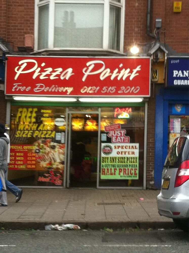 Pizza Point Takeaway Fast Food 127 Soho Road
