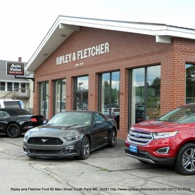 ripley and fletcher ford service center 80 main st south paris me auto dealers mapquest mapquest