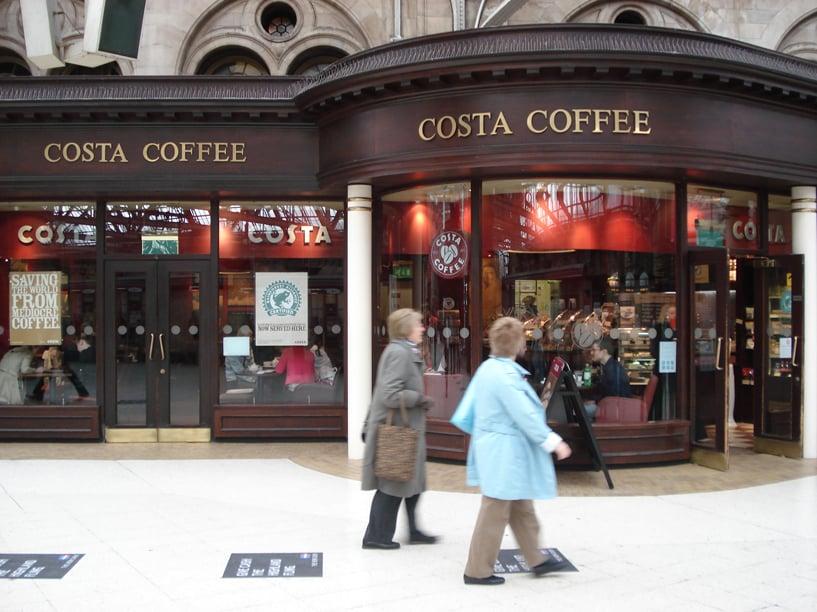 Costa Coffee Coffee Tea Shops Unit 4 5 Caledonia