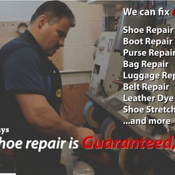 shoe repair shop near me now