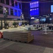 Photo of IPIC Theaters - Atlanta, GA, United States. Outside courtyard