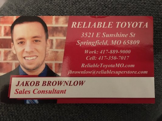 Reliable Toyota Springfield Mo >> Reliable Toyota 3521 East Sunshine Springfield Mo Auto