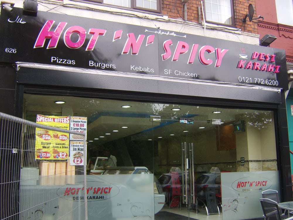 Hot Spicy Takeaway Fast Food 626 Coventry Road