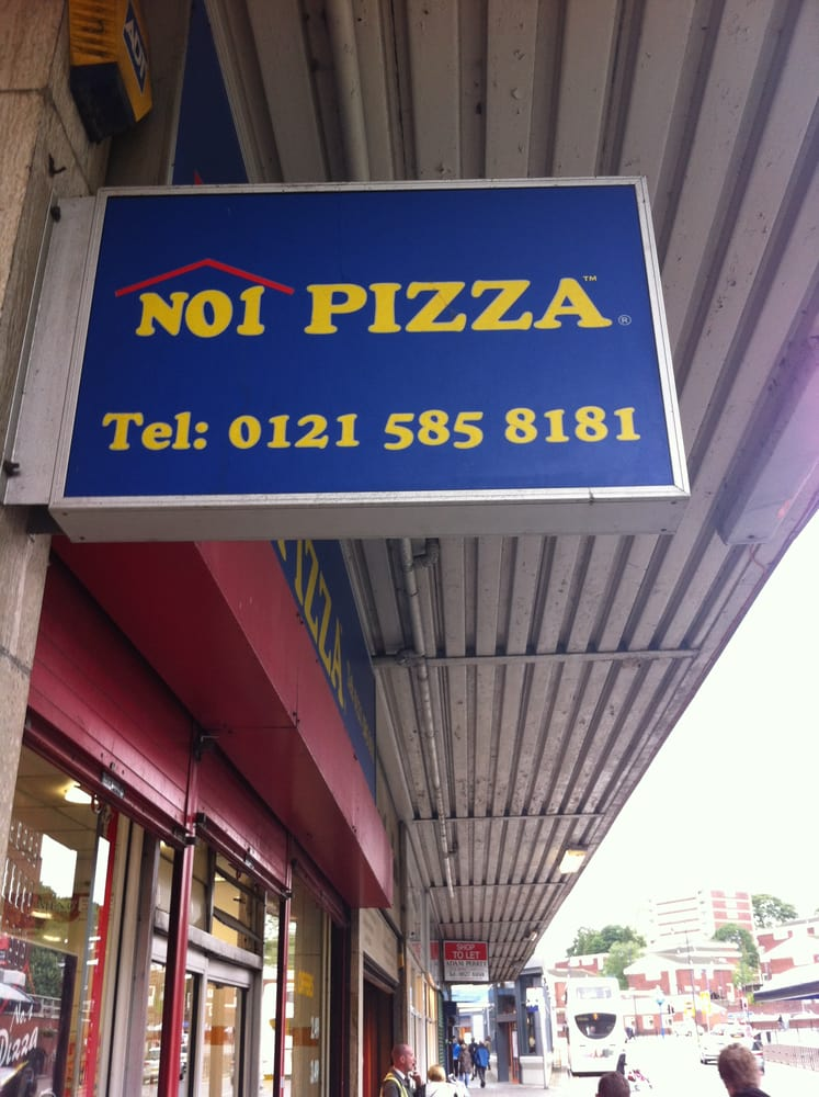 No 1 Pizzas Takeaway Fast Food 33 Queensway
