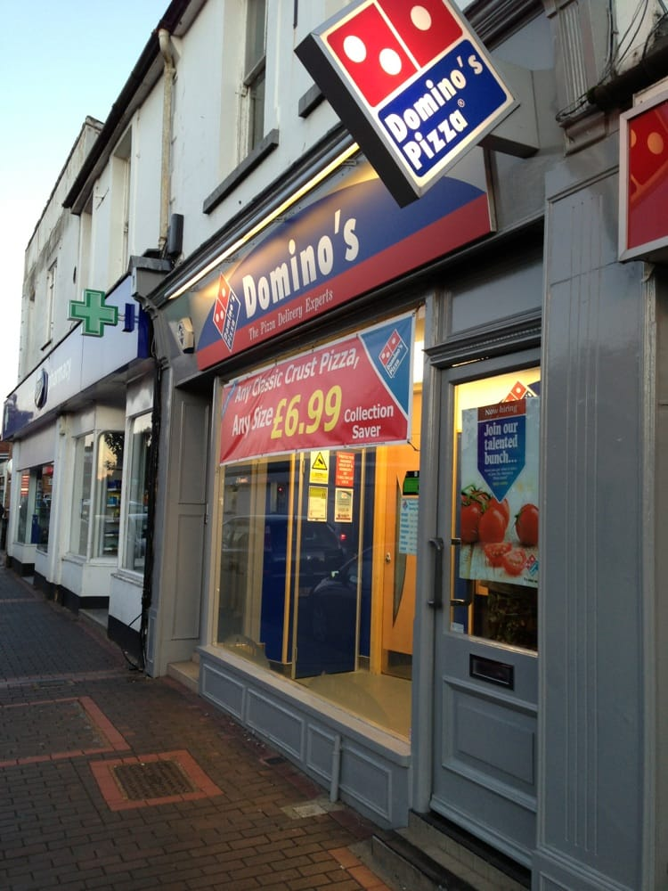 Dominos Pizza Group Pizza 15 Broadway Woking Surrey
