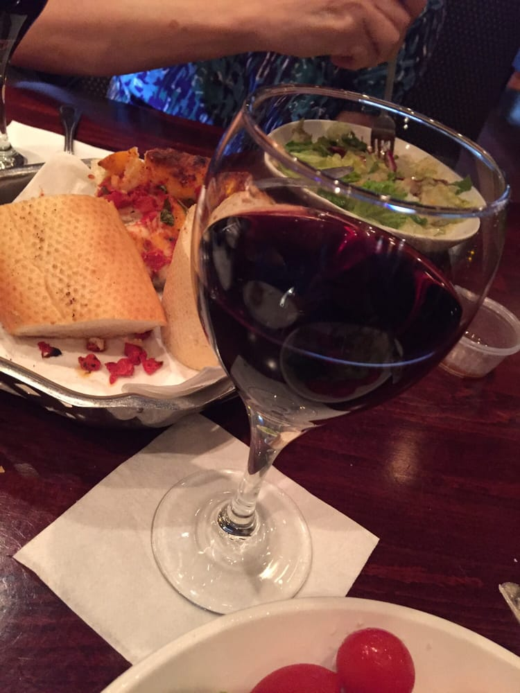 Photo of Calo Ristorante - Chicago, IL, United States. Oh, my red wine was so good, I had to have a second. Wife drove back home.