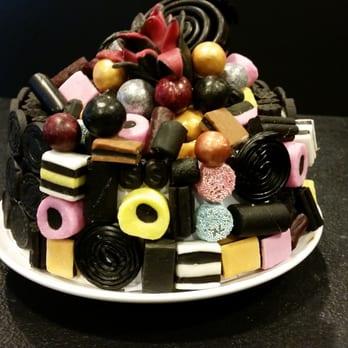 tårta med lakrits