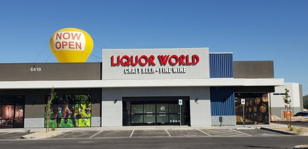 LIQUOR WORLD - 16 Photos & 21 Reviews - Beer, Wine & Spirits - 6410 S Rainbow Blvd, Las Vegas, NV, United States - Phone Number