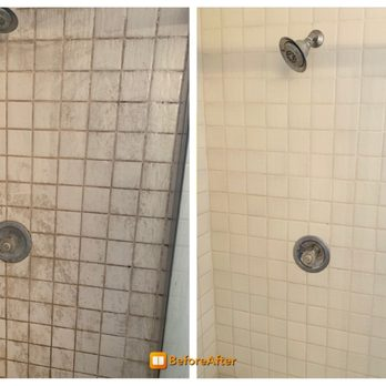 Shower Gl Door Cleaning Deep And Above