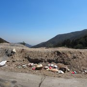 Photo of Angeles Crest Highway - La Canada, CA, United States. Why can't people clean up after themselves??