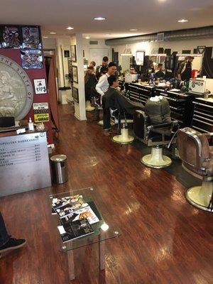 Metropolitan Barber Shop 173 Photos 144 Reviews Barbers 1018 Bush St Lower Nob Hill San Francisco Ca Phone Number Yelp