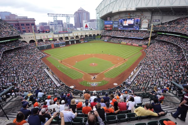 Minute Maid Park 501 Crawford St Houston Tx Stadiums Arenas Athletic Fields Mapquest