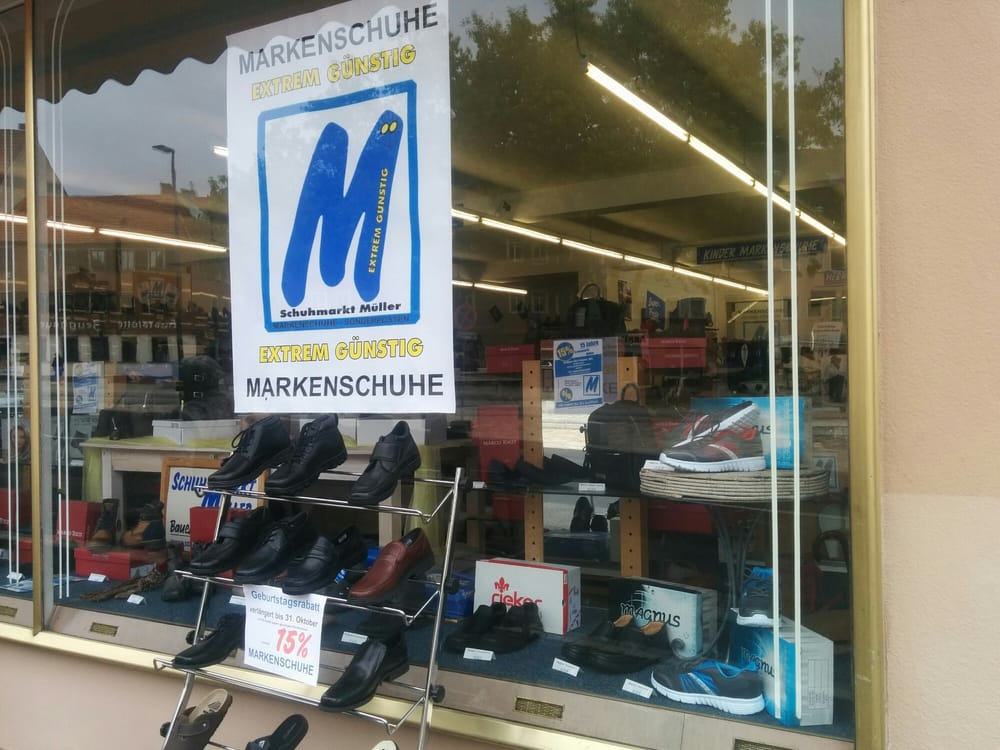 Schuhmarkt Müller Markenschuhe extrem günstig