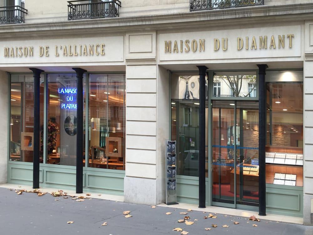 Maison De L Alliance Jewelry 104 Bd Haussmann Saint Lazare Grands Magasins Paris France Phone Number Yelp