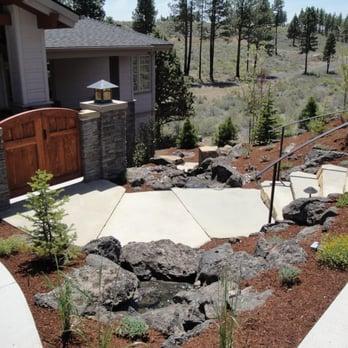 Lawn Free Front Yard Landscape Design
