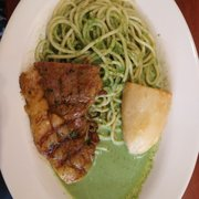 Photo of Don Pollo - Queens, NY, United States. Half portion, Tallarin Verde (steak and pesto sauce) $15.00