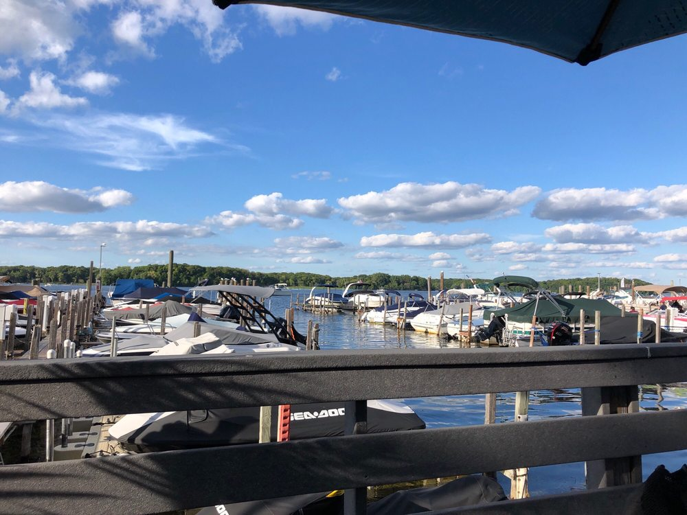 Photo of Caribbean Marina & Restaurant - Tonka Bay, MN, United States. View on 8/30/19 at 5:50 pm