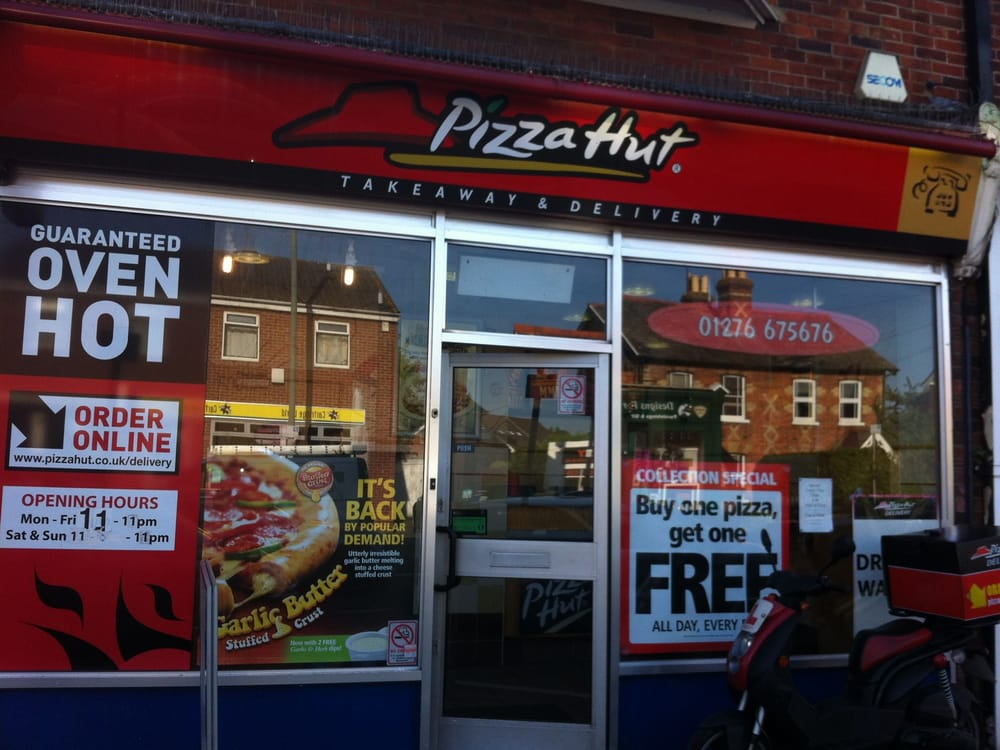Pizza Hut Pizza 136 Frimley Rd Camberley Surrey