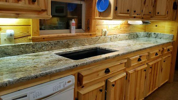 Elb Granite Countertop Installation