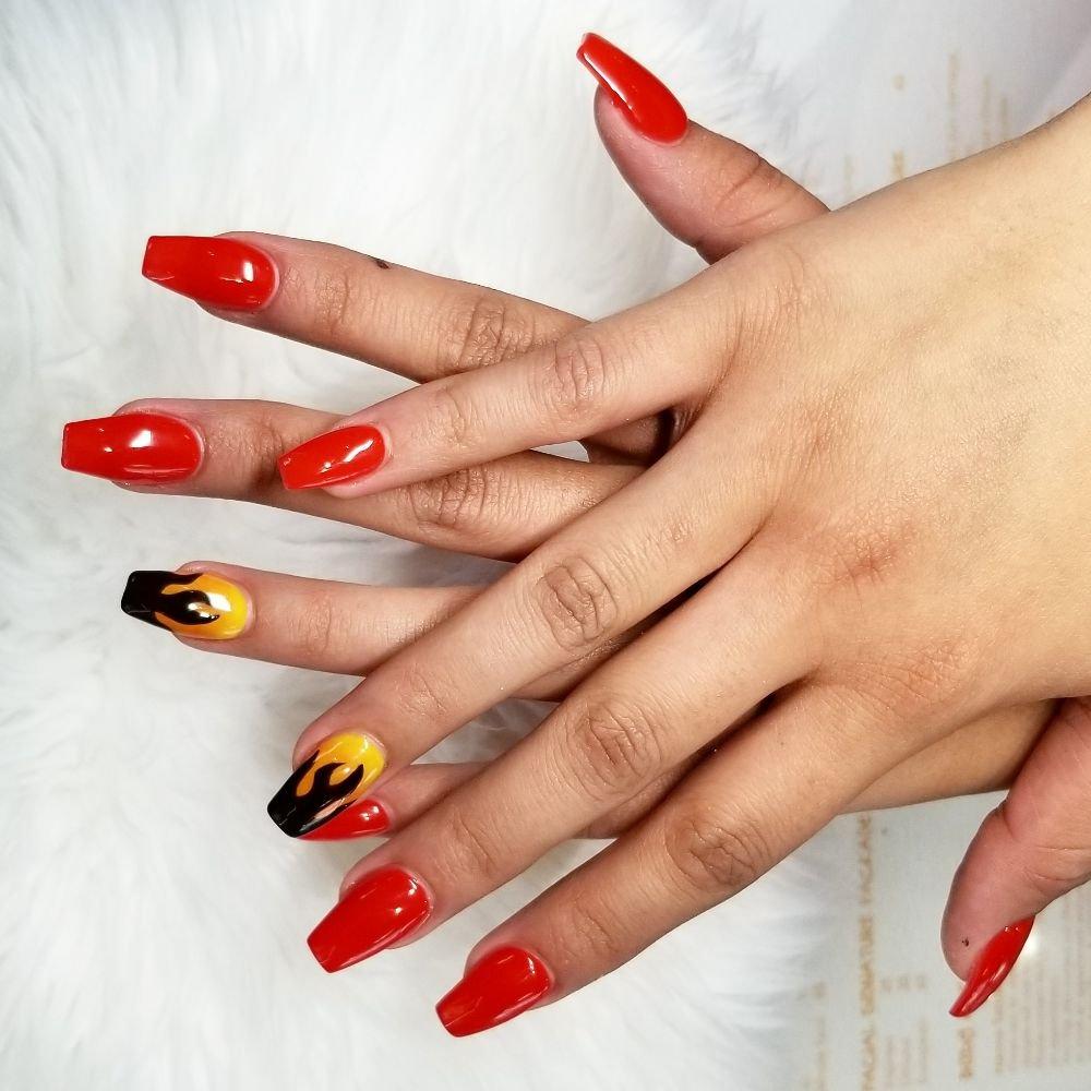 NAIL BAR   12 Photos & 12 Reviews   Nail Salons   12 S Eastern ...