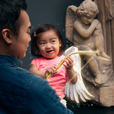 Photo of The Getty Villa - Pacific Palisades, CA, US. Cupid will have you loving the artwork!