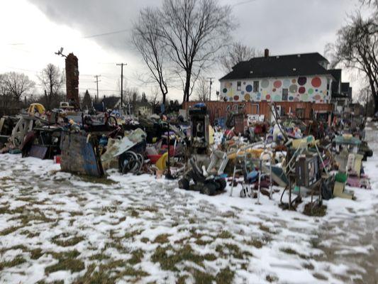 Photo of Heidelberg Project - Detroit, MI, United States. Art installation