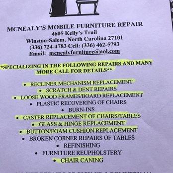 Mcnealy S Mobile Furniture Repair 27