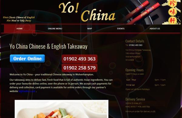 Yo China Chinese Takeaway Takeaway Fast Food 195