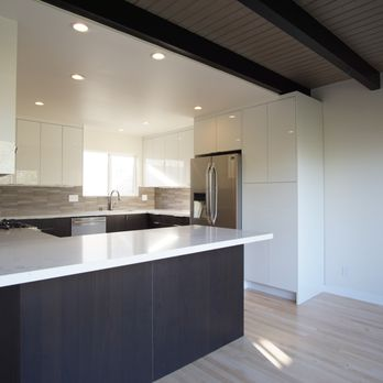San Francisco kitchen remodel, modern cabinetry, quartz ...