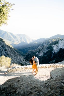 Photo of Angeles Crest Highway - La Canada, CA, US. most beautiful place in LA for photos