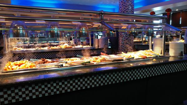 flaming grill and supreme buffet