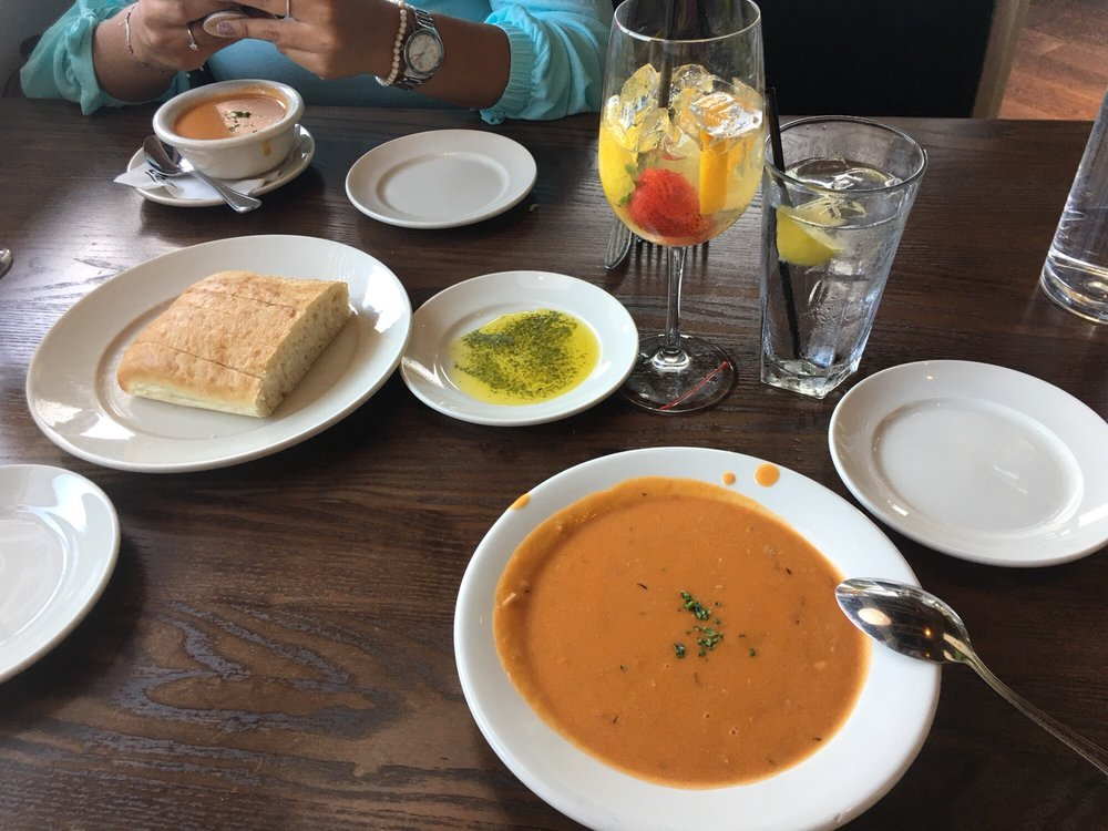 Photo of Connors Steak & Seafood - Sarasota, FL, United States. Lobster bisque!