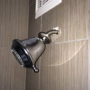 Photo of Days Inn Downtown / at the Stadium - Nashville, TN, United States. Poorly installed showerhead, the entire unit was movable within the wall.