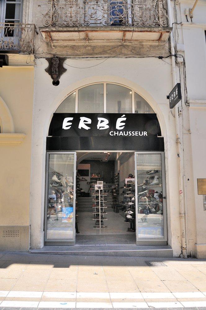 Erbé Magasins de chaussures 19 bis rue Loge, Montpellier