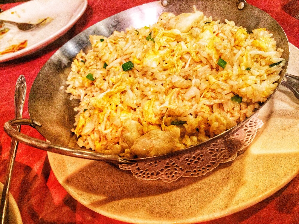 Photo of Thai Gourmet - Houston, TX, United States. Crab Fried Rice