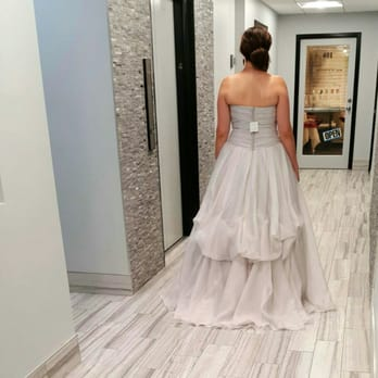 This Is A Separate French Bustle On David S Bridal Gown Yelp