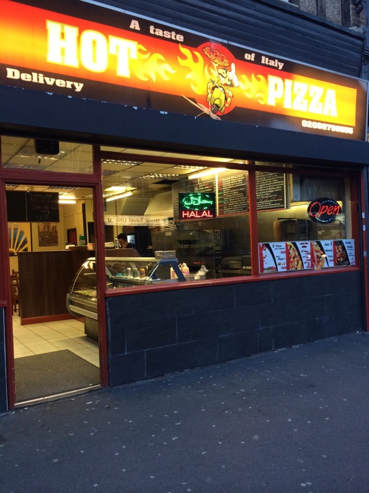 Hot Pizza Takeaway Fast Food 1532 London Road Norbury