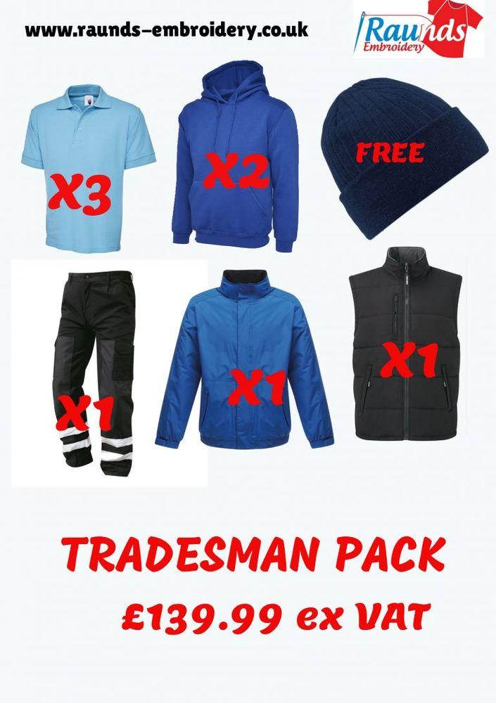 Raunds Embroidery & Workwear   8 Grombold Avenue, Raunds NN9 6EN   +44 1933 712606