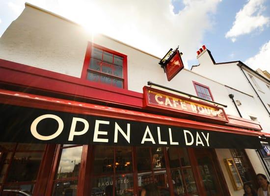 Cafe Rouge Dorking French 170 172 High Street Dorking