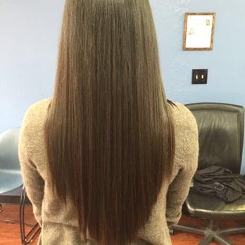U,shaped , no layer haircut , Yelp