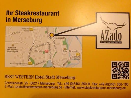 AZado Steakrestaurant Merseburg - Steakhouse - Christianen ...