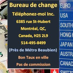 Currency Exchange In Montreal Qc