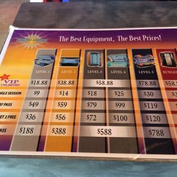 Palm Beach Tan Prices >> South Beach Tanning Company 21 Fotos Y 15 Resenas Camas