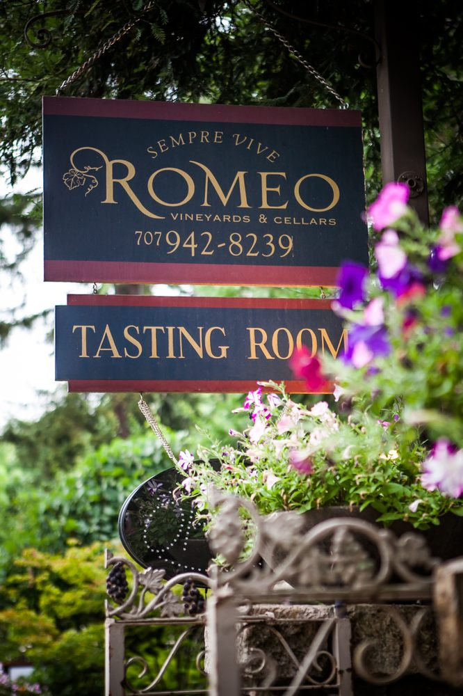 Photo of Romeo Vineyards & Cellars - Calistoga, CA, United States. Open 7 days a week - 11am - 6.30pm