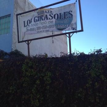 Terraza Los Girasoles Locales Para Eventos Xajay 1360