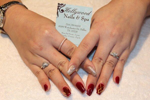 hollywood nail center