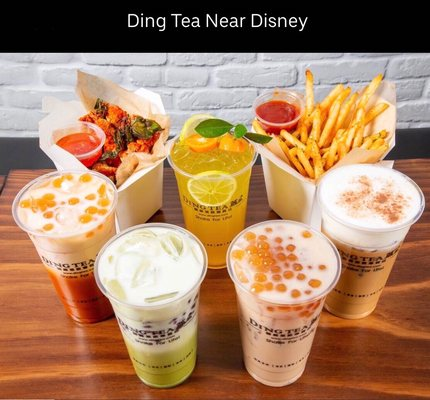 Ding Tea Near Disney 2306 S Harbor Blvd Anaheim, CA Coffee