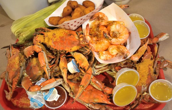 Photo of Crab Alley - Ocean City, MD, United States. Crab Feast for Two!